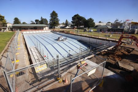 MB Swimming Centre Upgrade Timelapse 13 July 2020