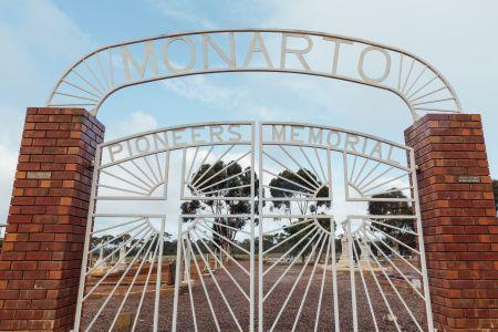 Monarto Cemetery Gate