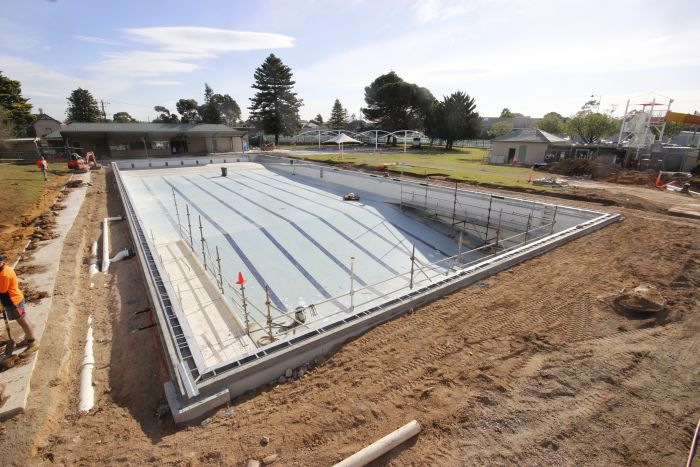 MB Swimming Centre Upgrade Timelapse 7 September 2020