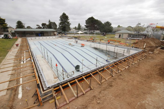 MB Swimming Centre Upgrade Timelapse 31 August 2020