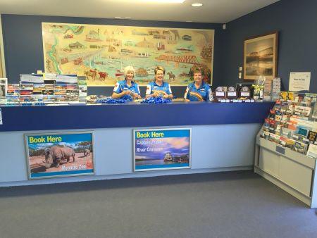 Information Center Volunteers
