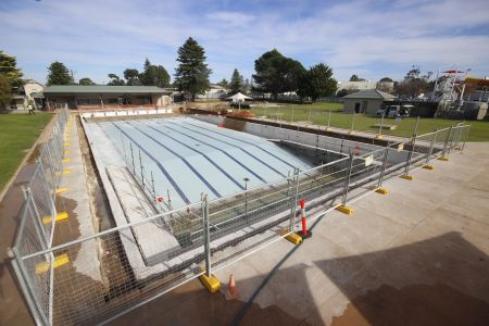 MB Swimming Centre Upgrade Timelapse 11 May 2020