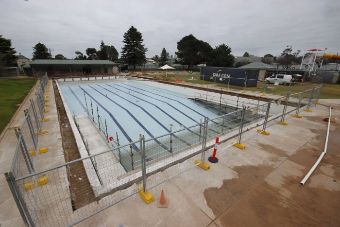 MB Swimming Centre Upgrade Timelapse 6 July 2020