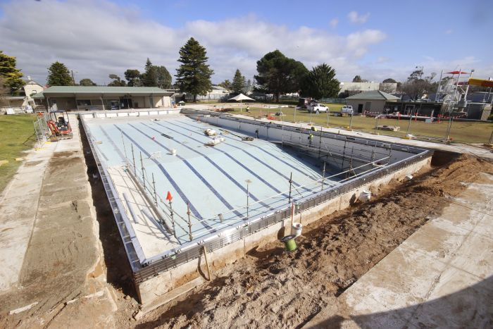 MB Swimming Centre Upgrade Timelapse 3 August 2020
