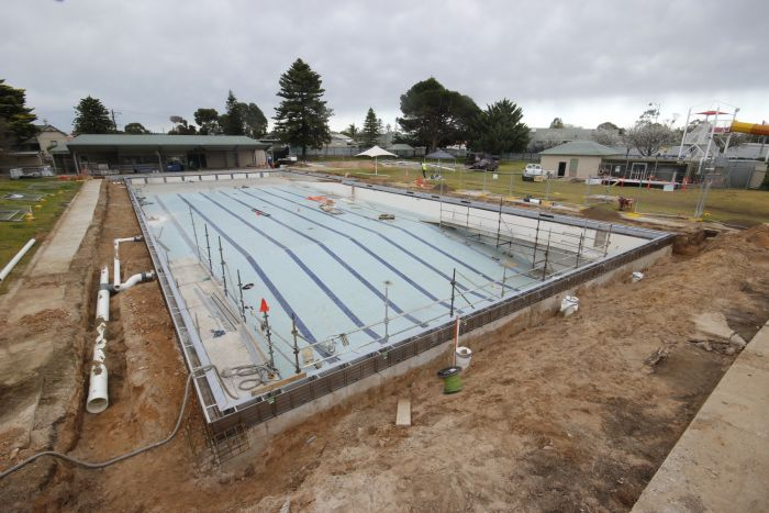 MB Swimming Centre Upgrade Timelapse 17 August 2020