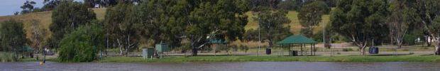 Photograph Avoca Dell Houseboat Mooring Panorama