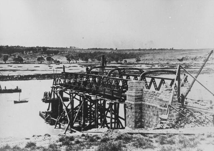 Bridge Construction 1875 B18565