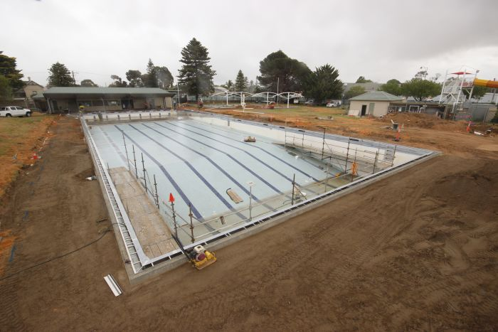 MB Swimming Centre Upgrade Timelapse 14 September 2020