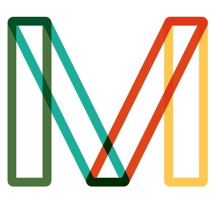 Coloured M