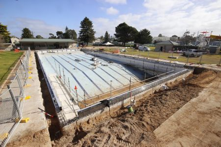 MB Swimming Centre Upgrade Timelapse 27 July 2020