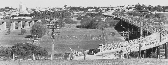 Farming land between the two Bridges 1950 HTSA GN14075