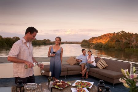 Family BBQs on the river
