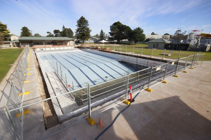 MB Swimming Centre Upgrade Timelapse 8 June 2020