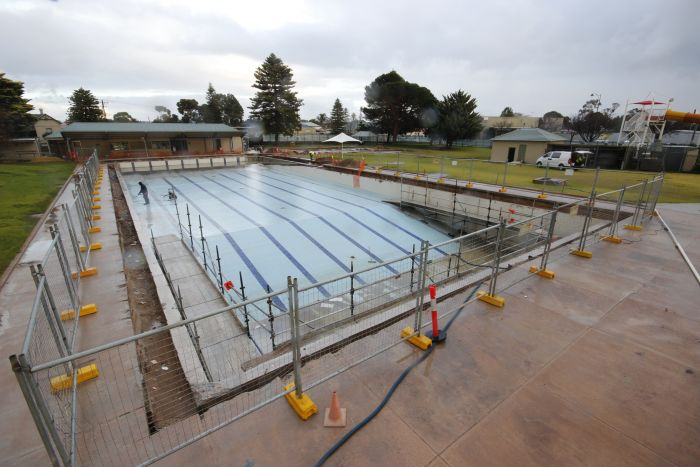 MB Swimming Centre Upgrade Timelapse 22 June 2020