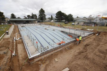 MB Swimming Centre Upgrade Timelapse 24 August 2020