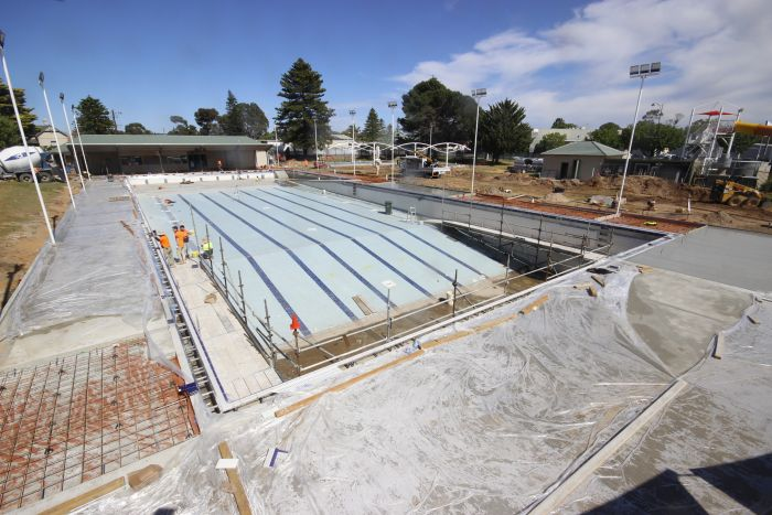 MB Swimming Centre Upgrade Timelapse 28 September 2020