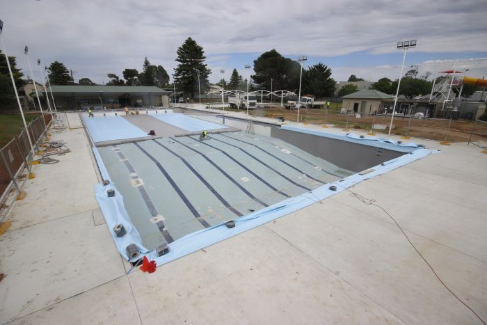 MB Swimming Centre Upgrade Timelapse 12 October 2020