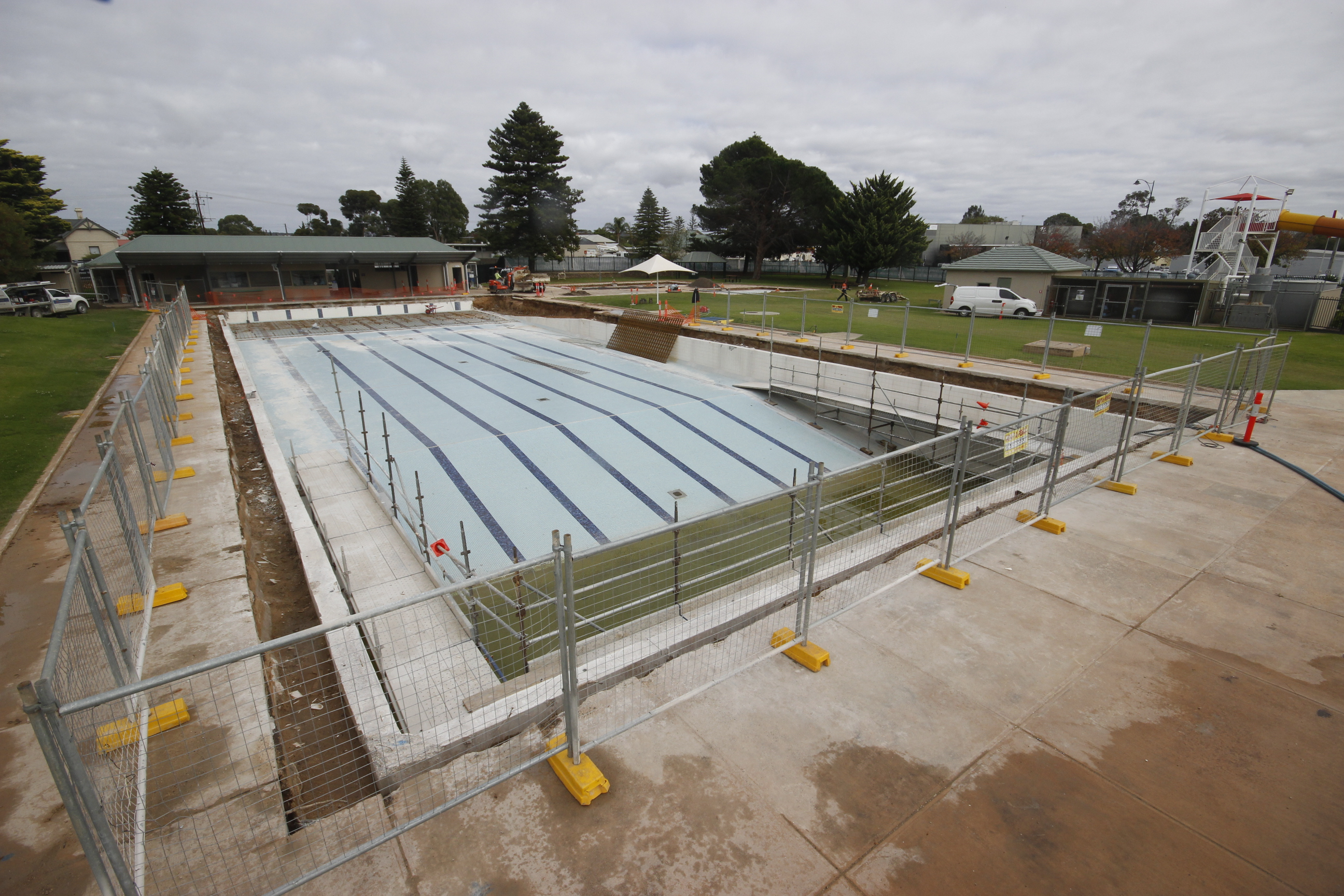 MB Swimming Centre Upgrade Timelapse 4 May 2020