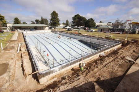 MB Swimming Centre Upgrade Timelapse 10 August 2020