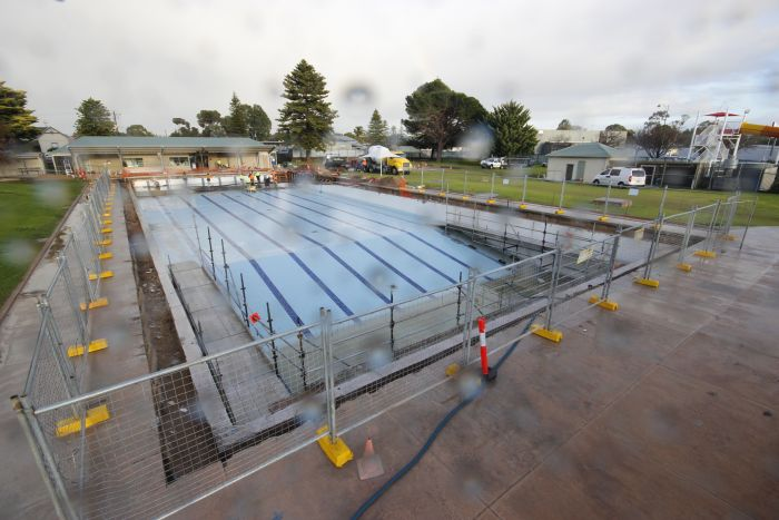 MB Swimming Centre Upgrade Timelapse 1 June 2020