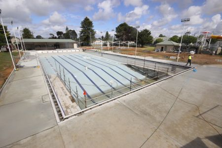 MB Swimming Centre Upgrade Timelapse 5 October 2020
