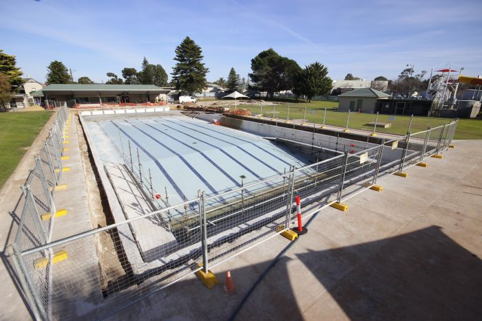 MB Swimming Centre Upgrade Timelapse 19 May 2020