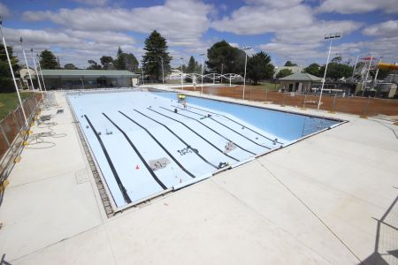 MB Swimming Centre Upgrade Timelapse 20 October 2020